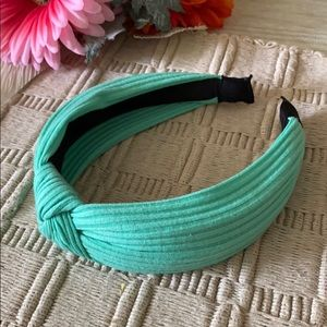 ASHLEY SUNSHINE Mustique Mint Knotted Headband